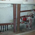 Κολλεκτέρ διαμερισμάτων με Ηλεκτροβάνες πριν την Εγκατάσταση Θρμιδομετρητών
