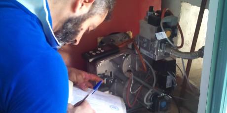 Τελική Ρύθμιση Λέβητα Φυσικού Αερίου πραγματοποιείται από τον πιστοποιημένο εγκαταστάτη Δανιήλ Μάλλιο μετά από τον έλεγχο της ΕΠΑ Αττικής